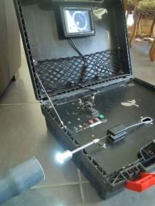 Equipement inspection par caméra