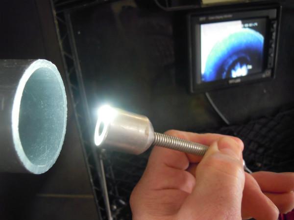 Caméra d'inspection de toutes les tuyauteries